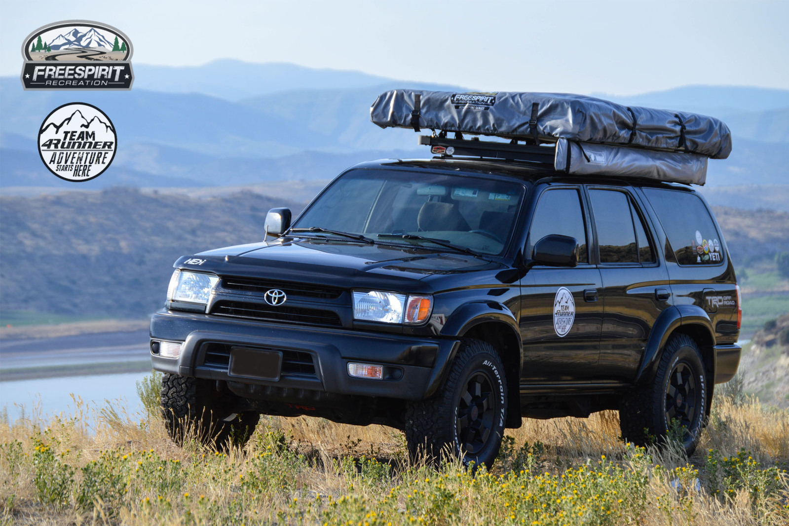 FreeSpirit Recreation ... & Freespirit Recreation Adventure Series Roof Top Tent | Team4runner