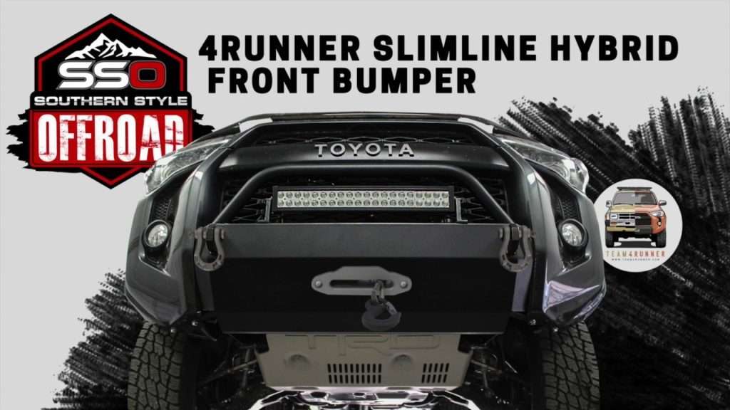 Sso 5th Generation Front Bumper Team4runner