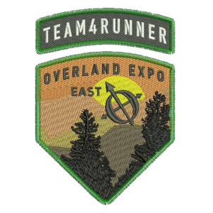 team4runneroverlandexpopatch