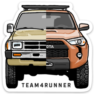 team4runner sticker